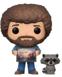 2017 Funko Pop Bob Ross Vinyl Figures 2