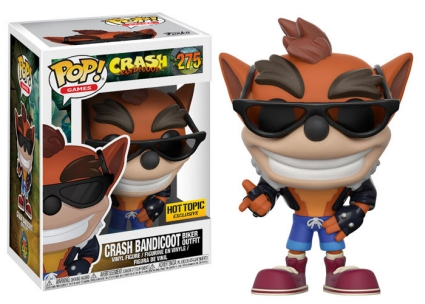 Funko Pop Crash Bandicoot Vinyl Figures 8