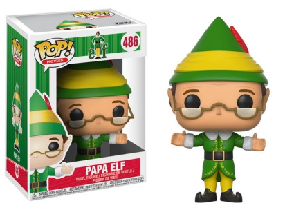 Funko Pop Elf Movie Vinyl Figures 7