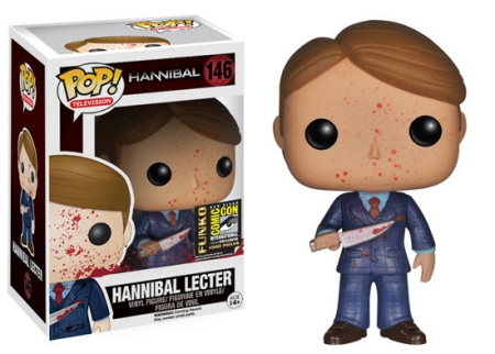 Funko Pop Hannibal Vinyl Figures 4