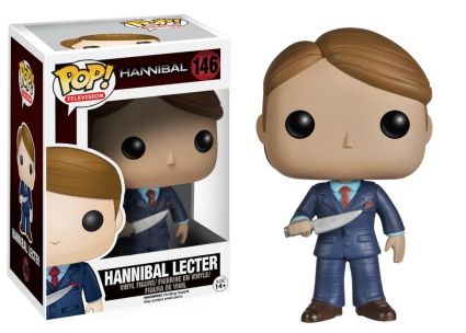Funko Pop Hannibal Vinyl Figures 3