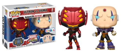 Funko Pop Marvel vs Capcom