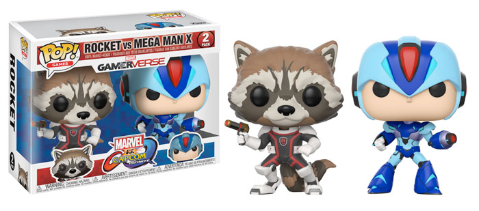 2017 Funko Pop Marvel vs Capcom Infinite Vinyl Figures 29