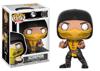 Funko Pop Mortal Kombat Vinyl Figures 3