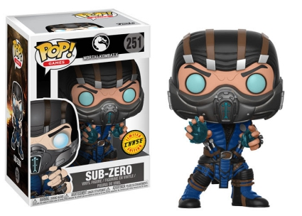 Funko Pop Mortal Kombat Vinyl Figures 5