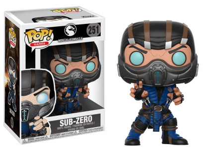 Funko Pop Mortal Kombat Vinyl Figures 4