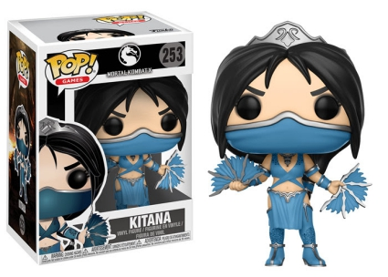 Funko Pop Mortal Kombat Vinyl Figures 7