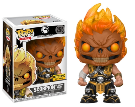 Funko Pop Mortal Kombat Vinyl Figures 9