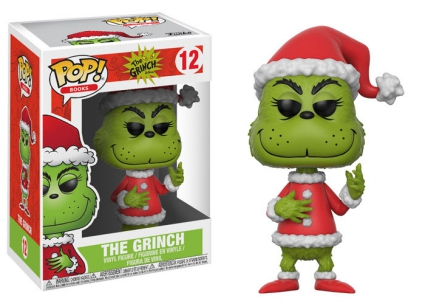 Funko Pop The Grinch Vinyl Figures 3