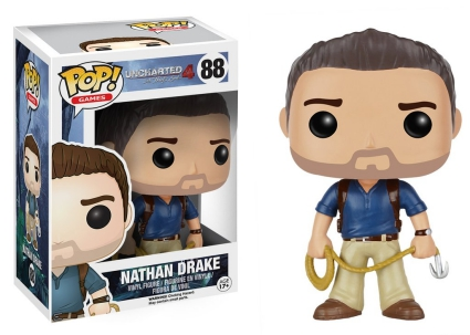 Funko Pop Uncharted Vinyl Figures 1