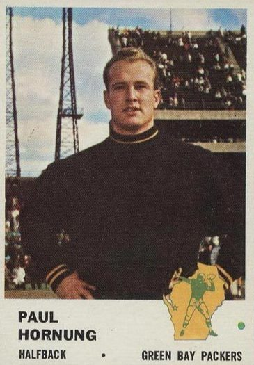 Top 10 Paul Hornung Football Cards 7