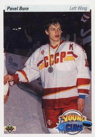 1990-91 Upper Deck Young Guns RC #526 Pavel Bure