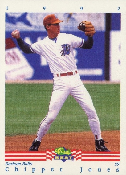 Cooperstown Awaits! Top 10 Chipper Jones Baseball Cards 7