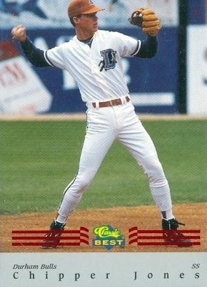 Cooperstown Awaits! Top 10 Chipper Jones Baseball Cards 8