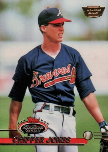 1993 Topps Stadium Club Members Only Chipper Jones #638