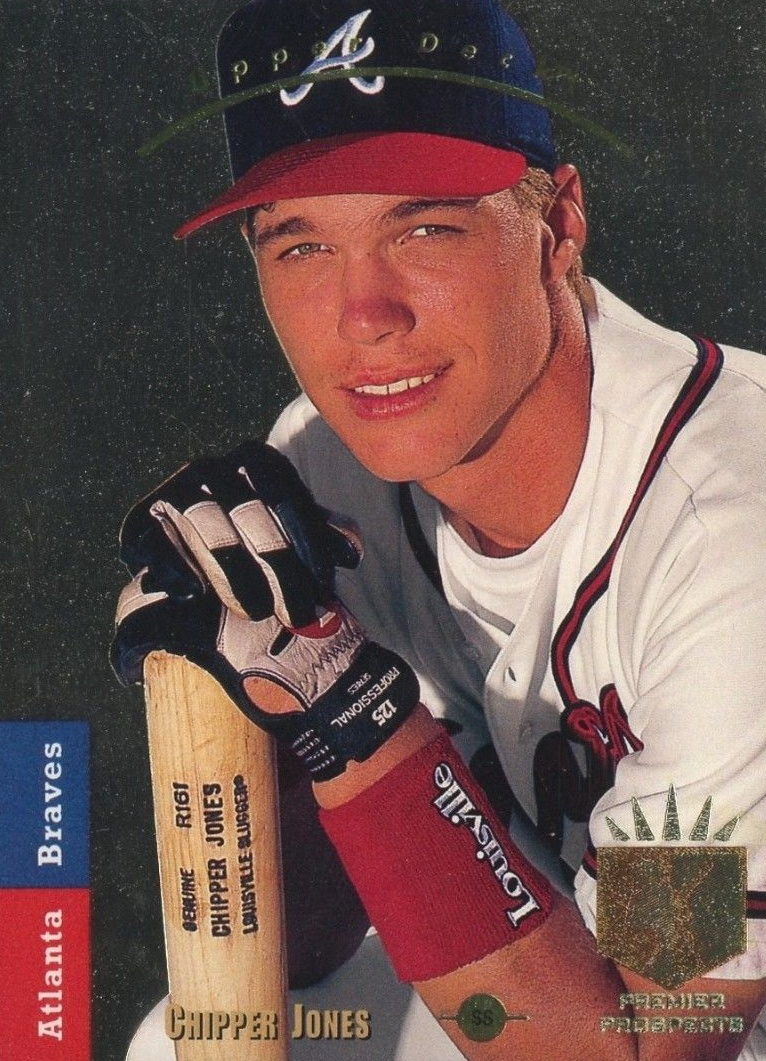 Top Chipper Jones Baseball Cards Best Rookies Autographs