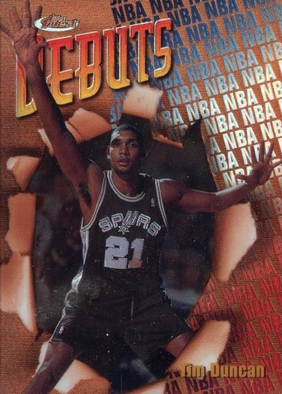 Top 10 Tim Duncan Cards of All-Time 2