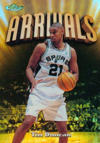 The Big Fundamental Retires! Top 10 Tim Duncan Cards of All-Time 4