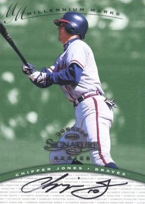 Cooperstown Awaits! Top 10 Chipper Jones Baseball Cards 10