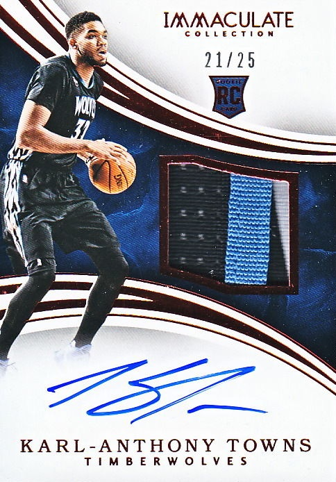 Karl-Anthony Towns Rookie Cards Checklist and Gallery 21