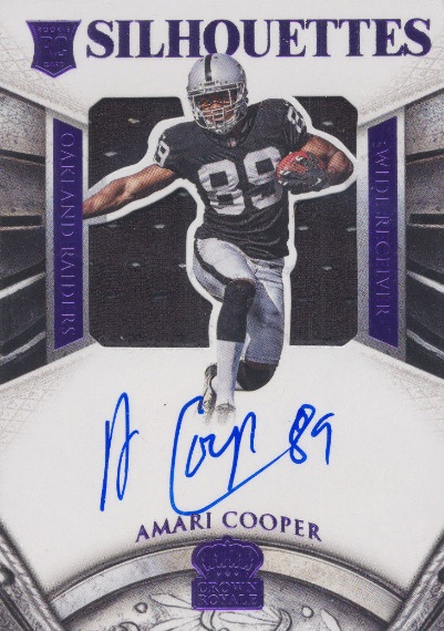 Amari Cooper Rookie Card Gallery and Checklist 11