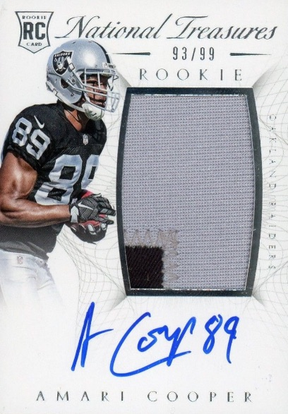 Amari Cooper Rookie Card Gallery and Checklist 4