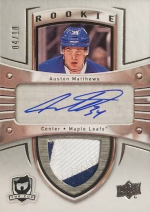 Auston Matthews Rookie Cards Checklist and Gallery 35