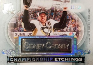 2016-17 Upper Deck The Cup Hockey