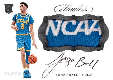 2017-18 Panini Flawless College Basketball