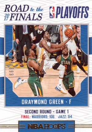 2017-18 Panini NBA Hoops Basketball Cards 34