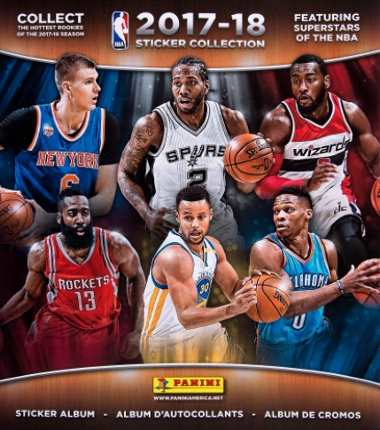 2017-18 Panini NBA Sticker Collection 3