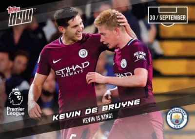 2017-18 Topps Now Premier League Soccer Cards 8