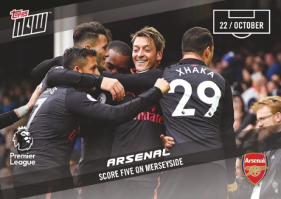 2017-18 Topps Now Premier League Soccer Cards 10