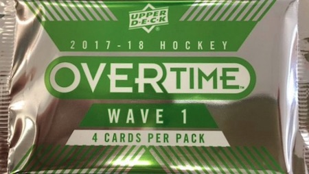 2017-18 Upper Deck Overtime Hockey Cards 1