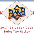 2017-18 Upper Deck Series 2 Hockey Cards