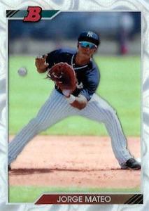 2017 Bowman High Tek Baseball Cards 28