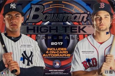 2017 Bowman High Tek Baseball Cards 65