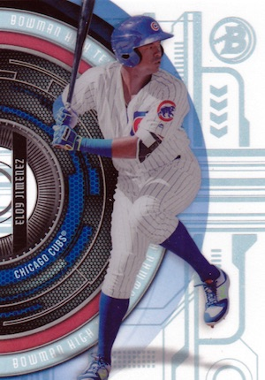 2017 Bowman High Tek Baseball Cards 32