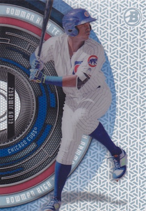 2017 Bowman High Tek Baseball Cards 34