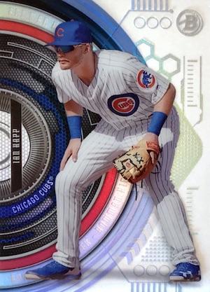 2017 Bowman High Tek Baseball Cards 38