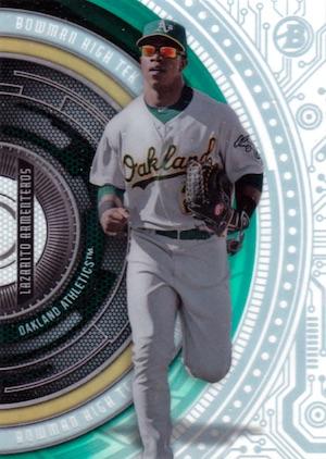 2017 Bowman High Tek Baseball Cards 36
