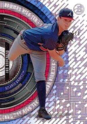 2017 Bowman High Tek Baseball Cards 42