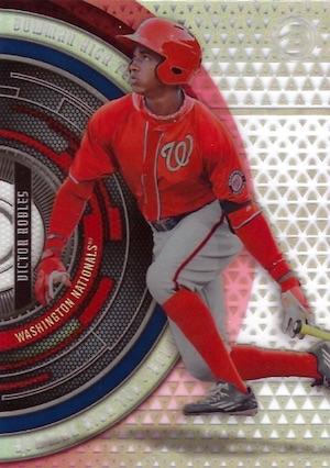 2017 Bowman High Tek Baseball Cards 41