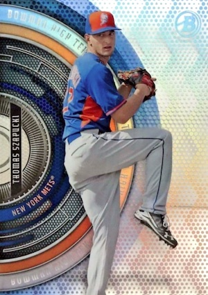 2017 Bowman High Tek Baseball Cards 40