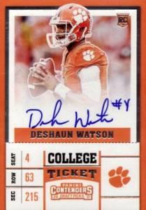 Best Deshaun Watson Rookie Cards to Collect 3