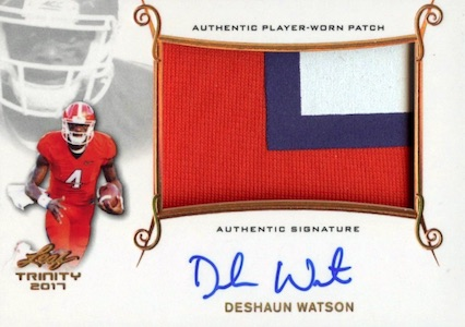 Best Deshaun Watson Rookie Cards to Collect 11