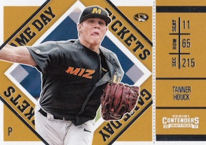 2017 Panini Contenders Draft Picks Baseball Cards 29