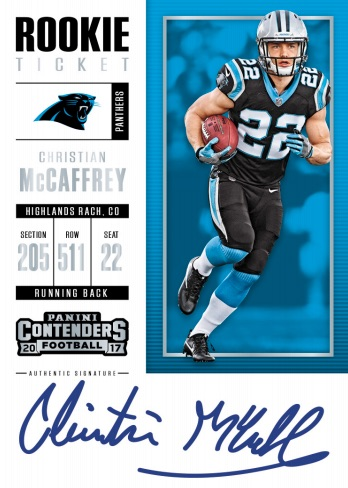 2017 Panini Contenders Football Checklist, SP Variations, Set Info, Boxes