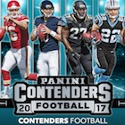 2017 Panini Contenders Football Cards - SP/SSP Rookie Ticket Print Runs Added