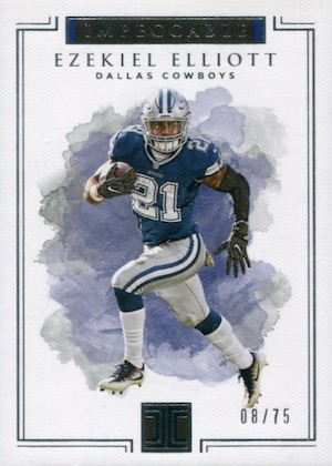 2017 Panini Impeccable Football Cards 22